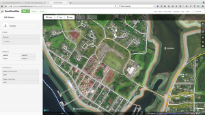 Editing data in Open Street Map