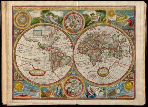 John Speed's A new and accurat map of the world, courtesy of Norman B. Leventhal Map & Education Center